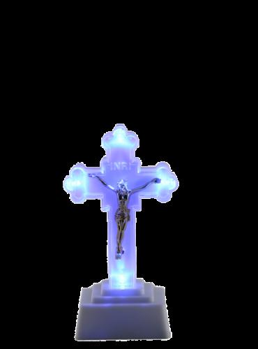 krzyż led duzy