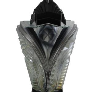 Faron nowoczesny lampion ozdobny srebrny