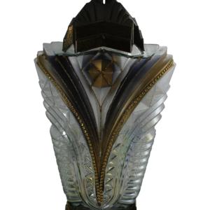 Faron nowoczesny lampion ozdobny złoty
