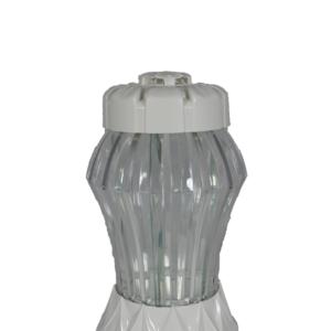 Glamour M biały lampion nowość