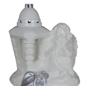 Anioł 5k latarnia lampion gipsowy