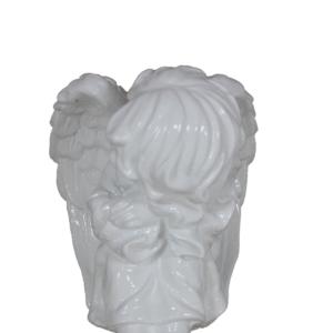 Anioł siedzący bokiem 2 figura ozdobna