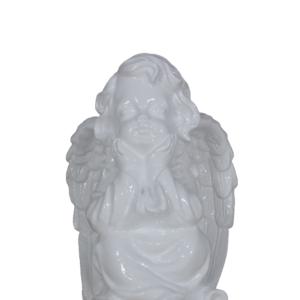 Anioł siedzący przodem figura ozdobna