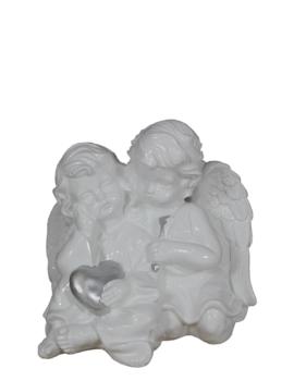 anioły 2 z sercem